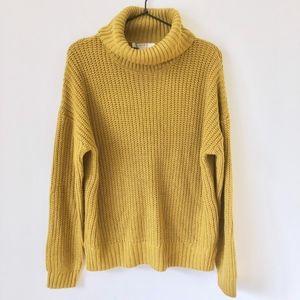 F21 Oversized Turtleneck Sweater